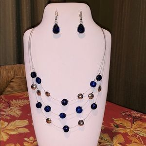 Old Navy Necklace and Earrings Set